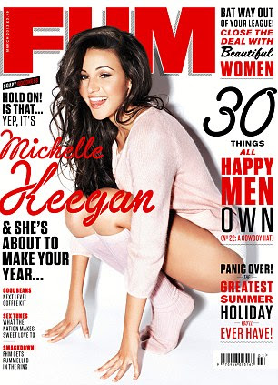 The full interview with Michelle Keegan appears in this month's FHM Magazine, on sale on Thursday