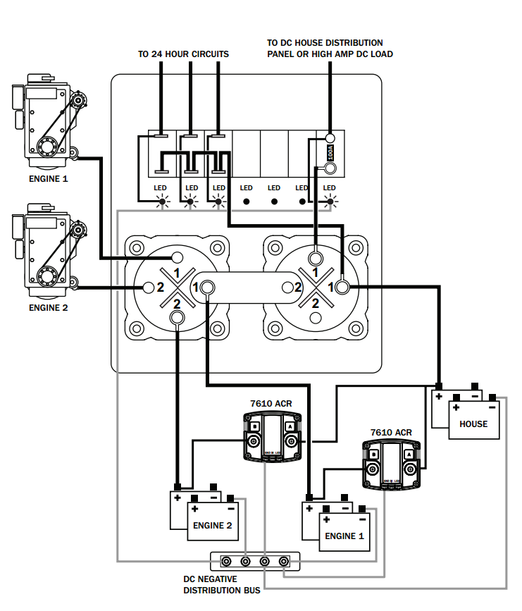 blue sea switch wiring diagram image 4