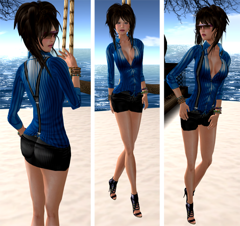 "NEW! DCNY ""Madelene II"" Outfit - Blue"