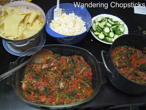 Vegetarian Lasagna with Broccoli, Kale, and Zucchini 3
