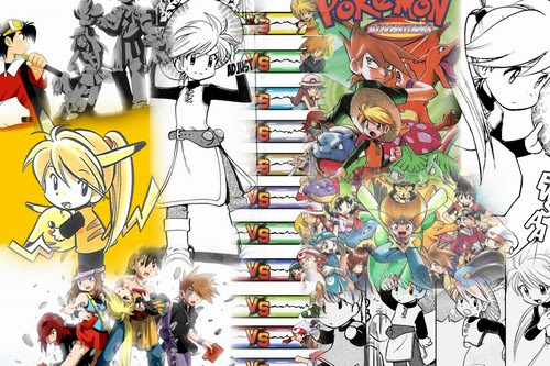 Pokémon Adventures images Pokemon Adventure Collages HD