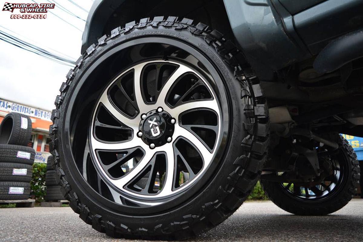 Gmc Sierra 1500 Xd Series Xd826 Surge Wheels Gloss Black Machined