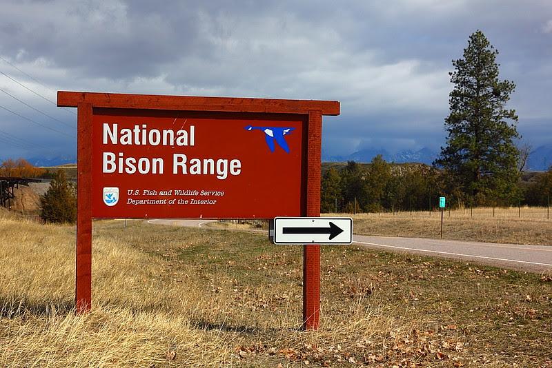 IMG_7485 Entrance Sign of National Bison Range
