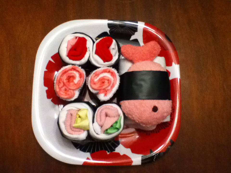 Make a Sushi Baby Shower Gift