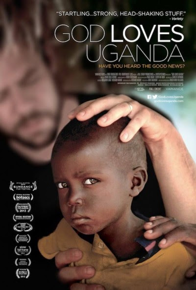 Stills from the documentary film God Loves Uganda