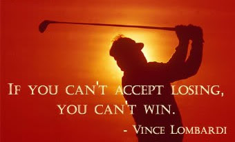 If You Can Accept Losing You Cant Win Vince Lombardi Sports