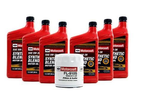 motorcraft mustang oil change kit   ecoboost