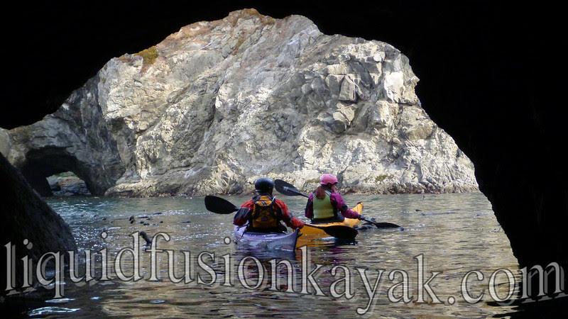 Sea kayaking mendocino sea caves and rock gardens