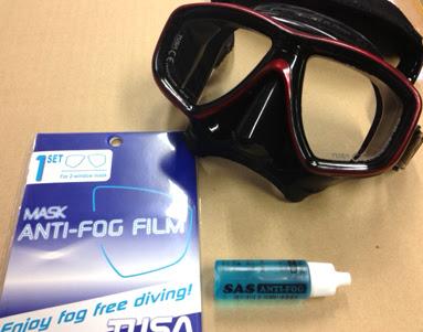 ダイビングのススメ マスクのレンズは何故くもる歯磨き粉で洗えばいい