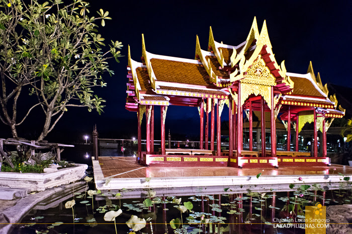 Beautiful Thai Architecture at Phuket's Siam Niramit Show