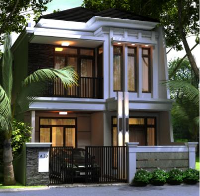 terbaru rumah minimalis 2 lantai tampak depan dengan