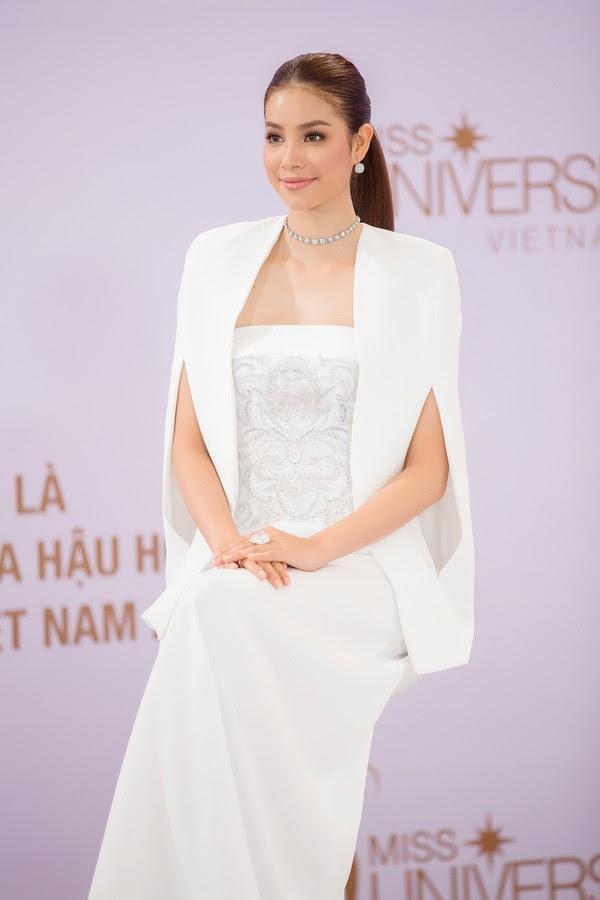 Phạm Hương và 3 phong cách hoàn toàn khác nhau từ The Face, Hoa hậu hoàn vũ 2017 đến The Look - Ảnh 10.