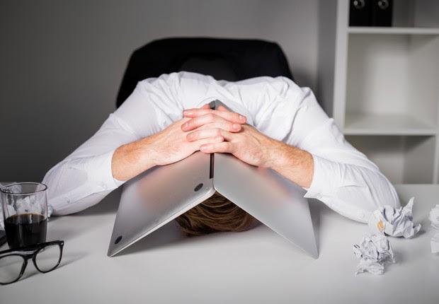 cansado, triste, estresse, estressado, escritório (Foto: Thinkstock)