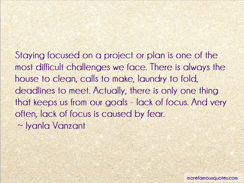Quotes About Staying Focused Top 29 Staying Focused Quotes From
