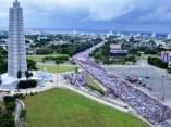 Primero de Mayo en La Habana. Foto: Roberto Garaycoa/ Cubadebate
