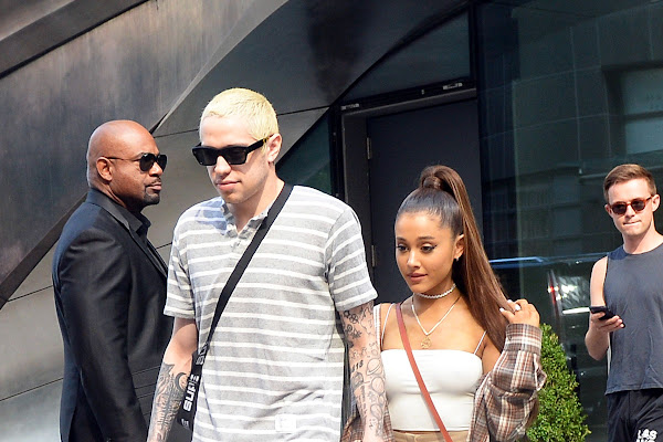 d403f04d6 Ariana Grande Wears Hot AF  33 Crop Top on a Date with Pete Davidson