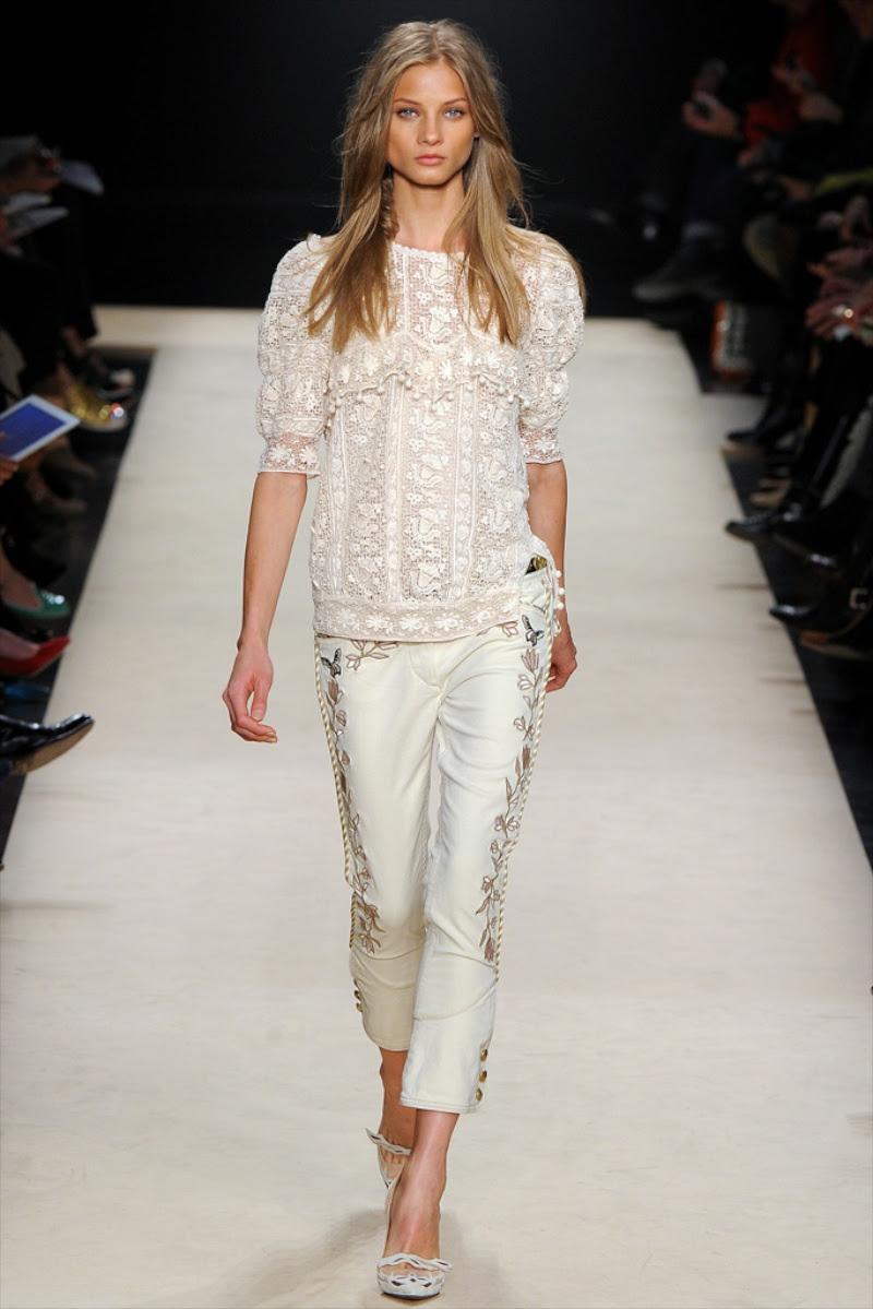 Isabel Marant monroe calça jeans