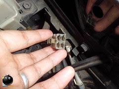 temperatur mesin di speedometer mepet di bawah  Service Relay Extra Fan Suzuki Karimun