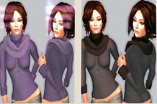 69L Wednesday Ilaya sweaters