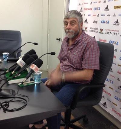 Runco entrevista Flamengo (Foto: Felippe Costa)