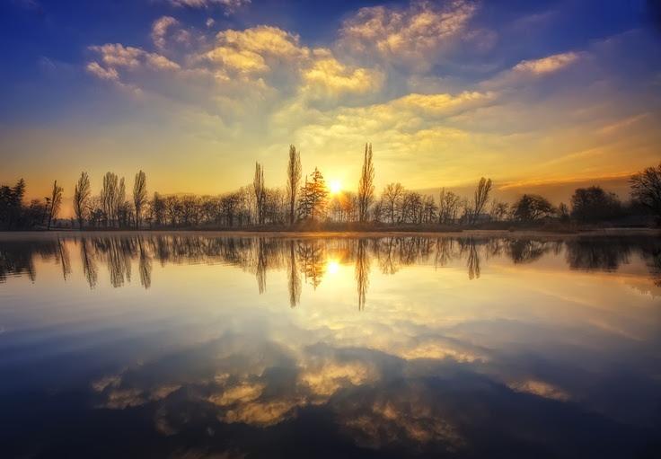 Un amanecer de invierno