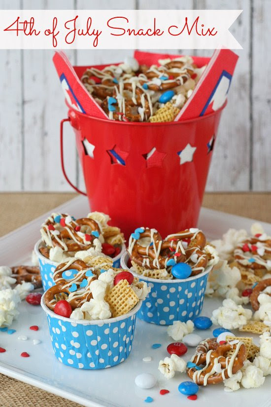4th Of July Snack Mix Glorious Treats