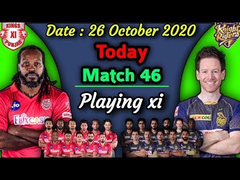 IPL 2020 - Match 46 | Kings Xi Punjab vs Kolkata Knight Riders Playing xi | KKR vs KXIP Playing 11