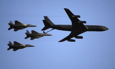 IAF F-15s refueling midflight [file]