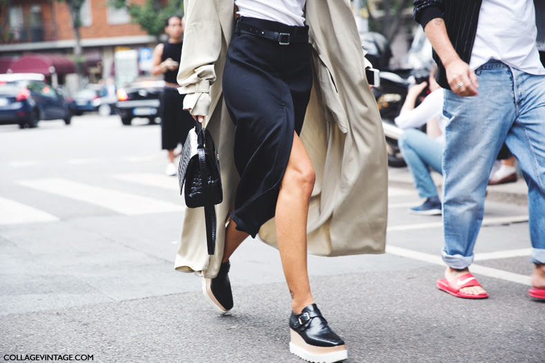Milan_Fashion_Week_Spring_Summer_15-MFW-Street_Style-Patricia_Manfield-Open_Skirt-Stella_Mccartney_Wedges-Trench_Coat