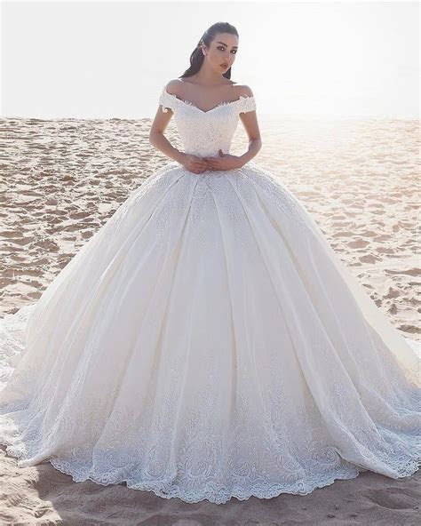 21 Princess Ball Gown Wedding Dresses Fit For A Fairytale