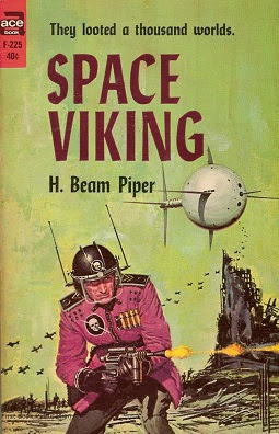 cover of 1980s Ace reprint of Space Viking
