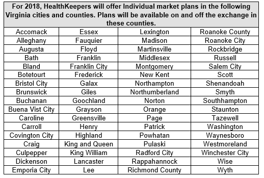 Anthem HealthKeepers Expands 2018 Individual Plan ...