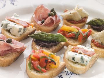 Canapes (Crostini) recipe   MyDish
