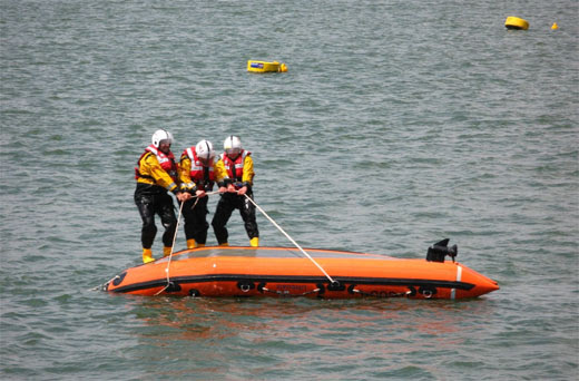 Safety Precaution Tips - Boat Capsize
