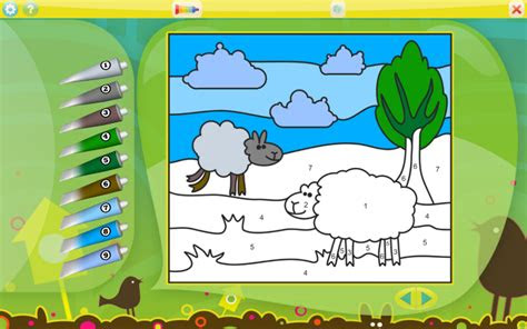 animals coloring game  kids