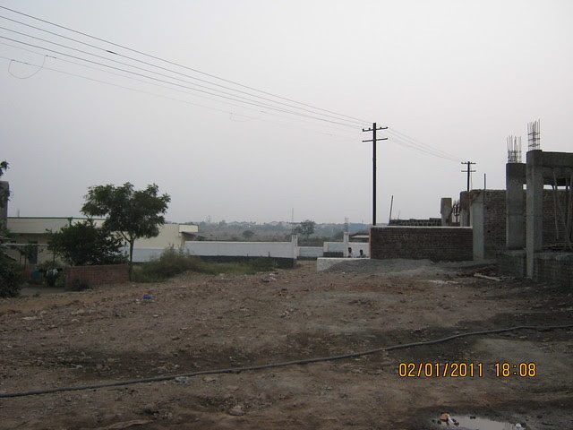 Proposed D P road to Mercedes - Bosch Plants at Chakan - Spacious 1 BHK Flat for 11 Lakhs at Nanekarwadi Chakan Pune 410510