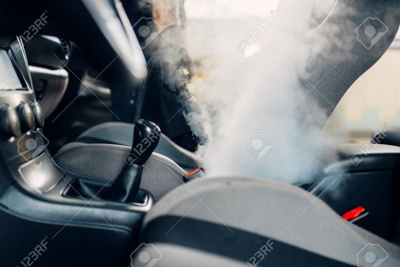 Car Interior Steam Cleaner