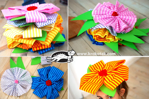 Two kinds of DIY paper flowers for decoration