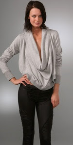AIKO Dahl Cowl Neck Top