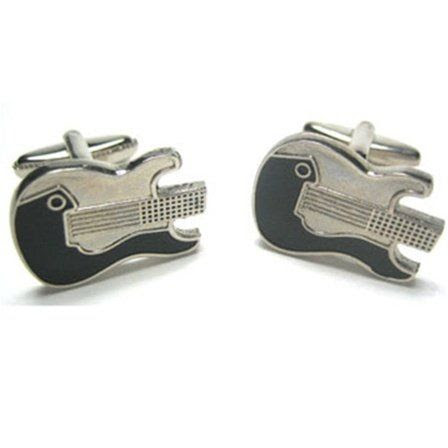 Electric Guitar Cufflinks Cuff Links: Clothing