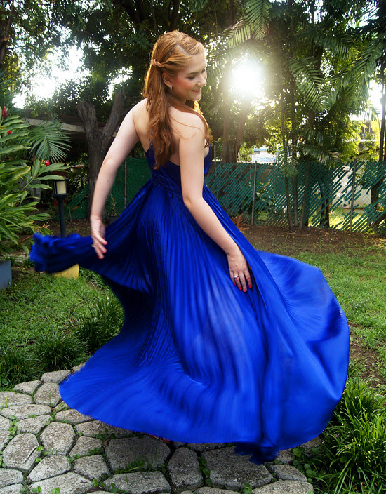 Pleated dress by The Joy of Fashion (2)