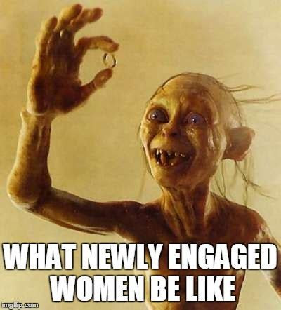 Funny Gollum Meme! More Funny Wedding Photos at www