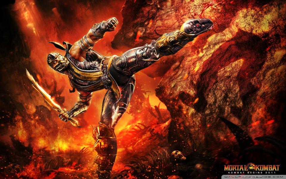 mortal kombat scorpion wallpaper. Mortal Kombat 9 Scorpion