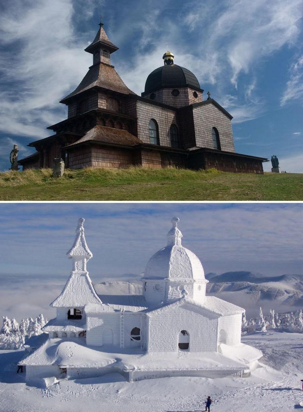 15 fotos de antes e depois da transformações invernais 12