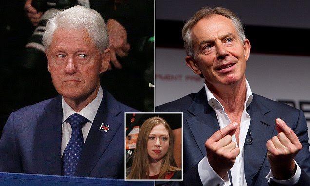 Bill Clinton would be 'horrified' to be accused of having 'Tony Blair's profit motivation', Chelsea said in leaked email