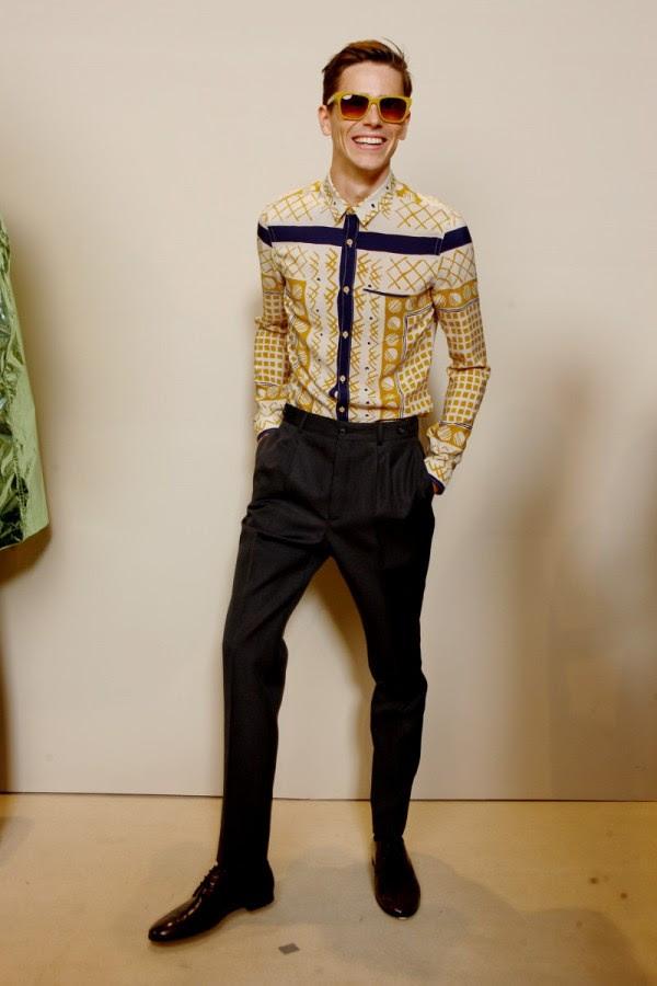 1 Burberry Prorsum Menswear SpringSummer 2013