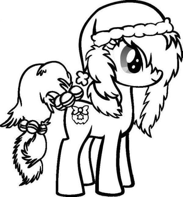 76 Coloring Pages Christmas Cute Download Free Images