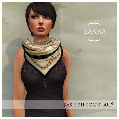 {Zaara} kashish scarf for Fifty Linden Friday