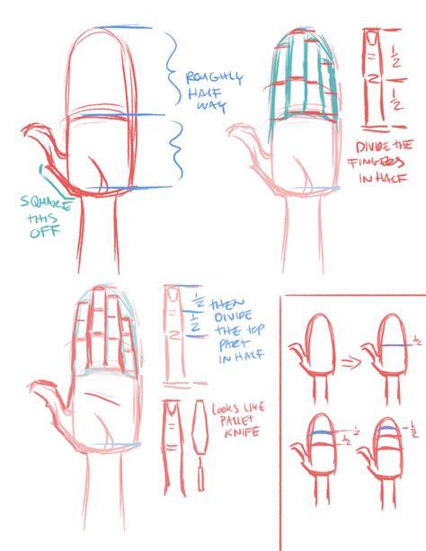 rad   quick hand proportions art tutorial
