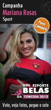 Clique para votar, ver fotos e pegar o selo da Campanha Marianna Rosas (Sport) para campeã do Belas da Torcida